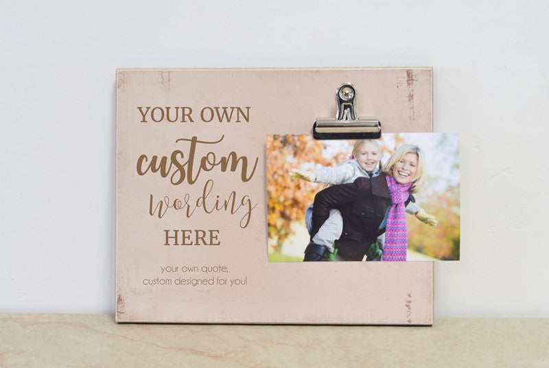 mothers day gift for mom, custom design your own photo frame gift