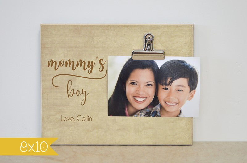 mommys boy frame 8x10