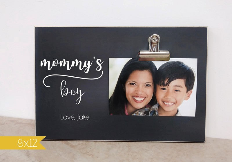 mommys boy frame 8x12