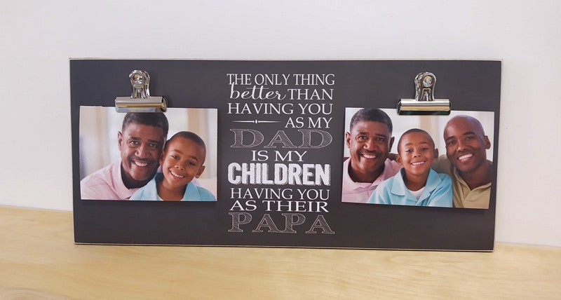 papa gift, gift for papa, fathers' day gift for grandpa, christmas gift for grandpa