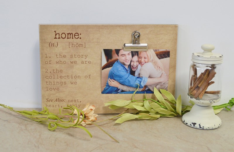home definition frame, family photo frame family gift, personalized gift, custom photo fraem