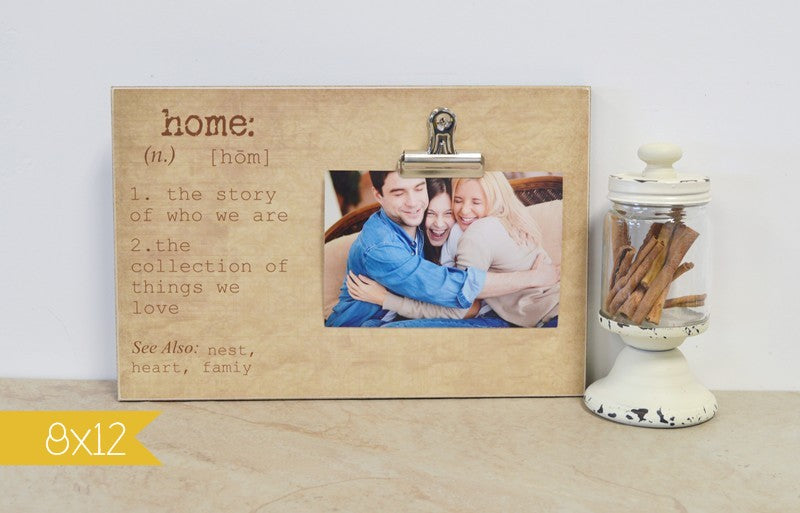 home photo frame, definition frame, family gift for christmas, christmas gift for family, new family gift housewarming gift