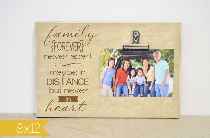 family forever-going away frame
