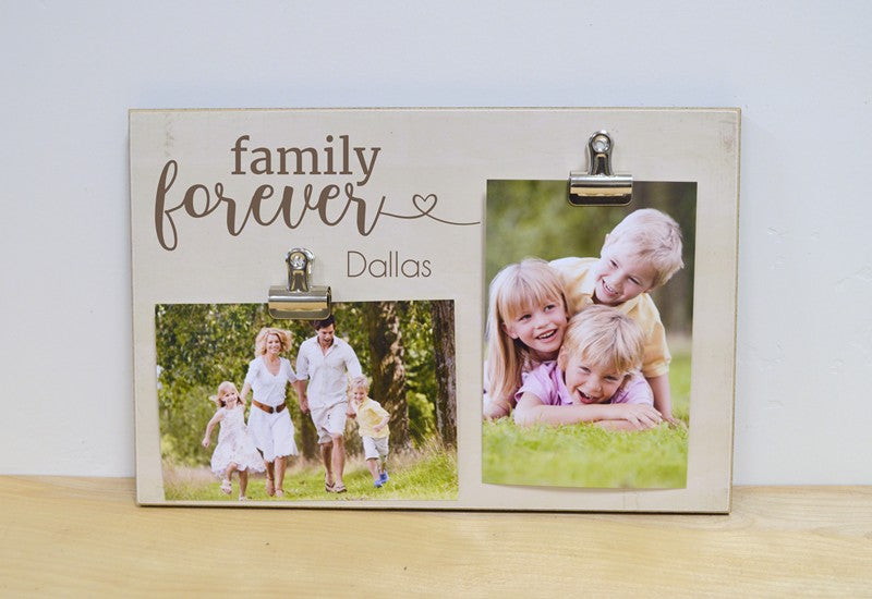 family forever photo frame gift for family, christmas gift