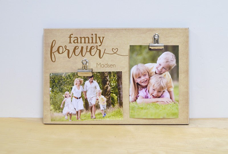 family forever photo frame , personalized gift for family, family gift