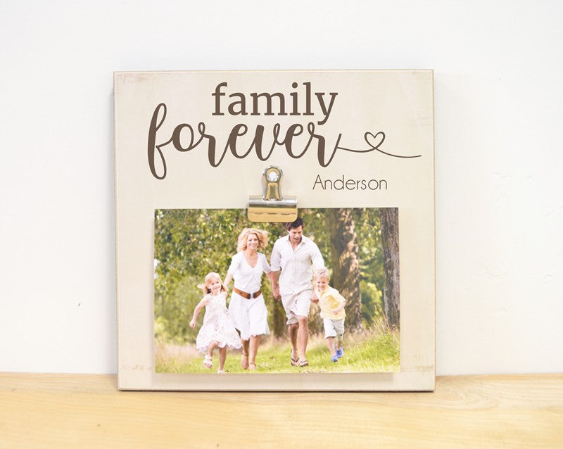 family is forever picture frame gift for family, family gift