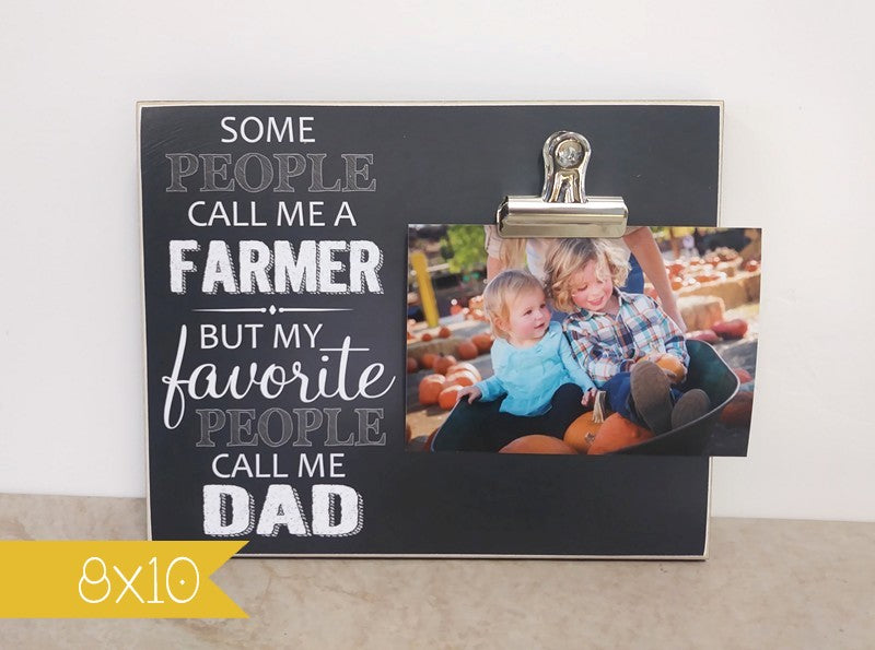 farmer picture frame, gift for farmer dad, father's day gift for farmer