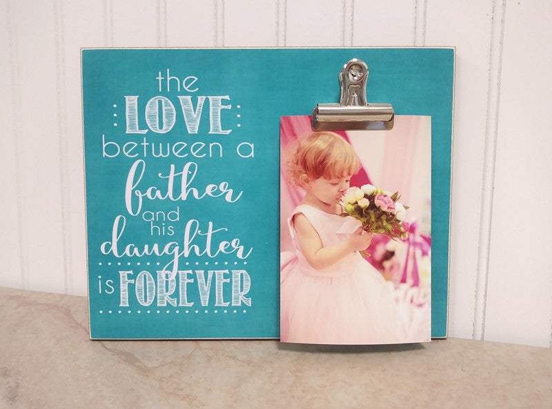 love between father and daugther frame