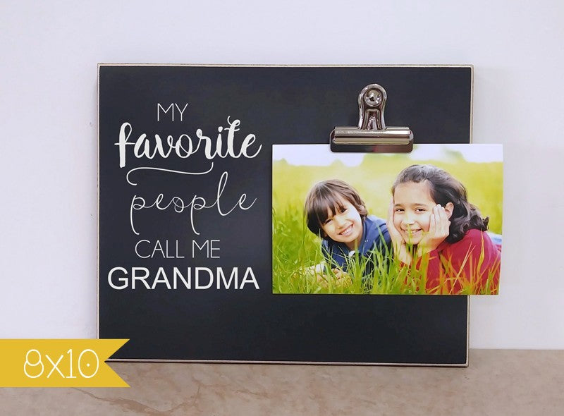 grandma gift, gift for grandma, personalized photo frame , custom gift, personalized gift