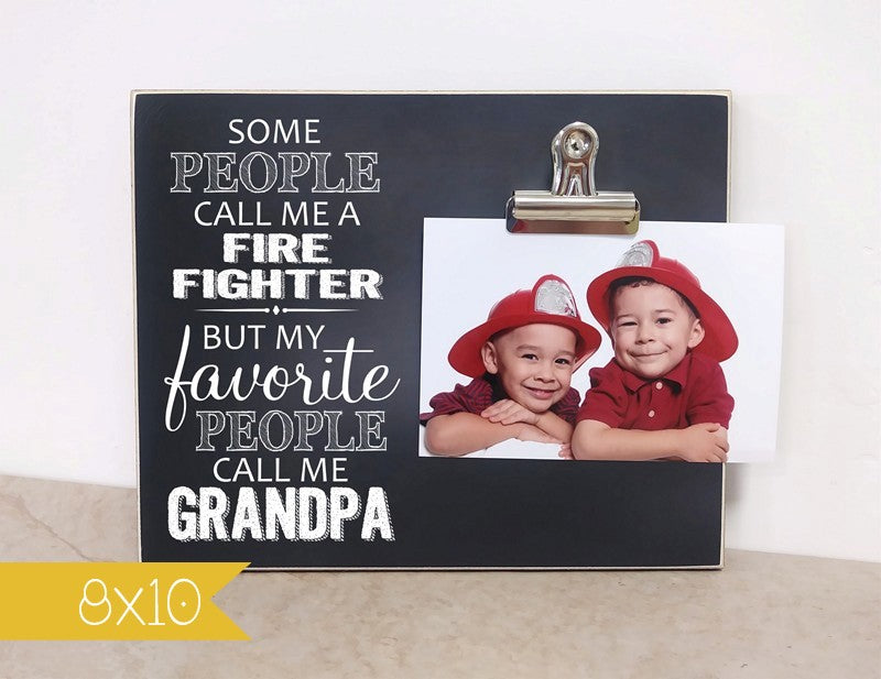 fire fighter grandpa gift, gift for firefighter, my favorite people call me grandpa