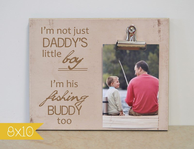 Little fishing buddy-little boy frame 8x10