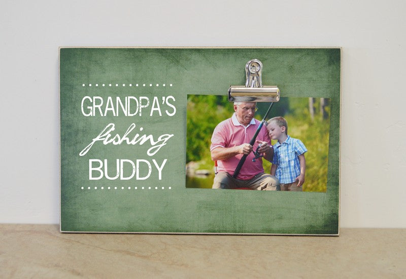 grandpas fishing buddy, fathers day gift for grandpa
