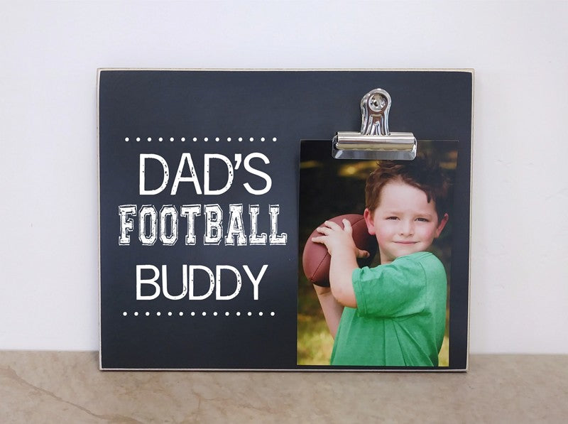 dads football buddy frame 8x10