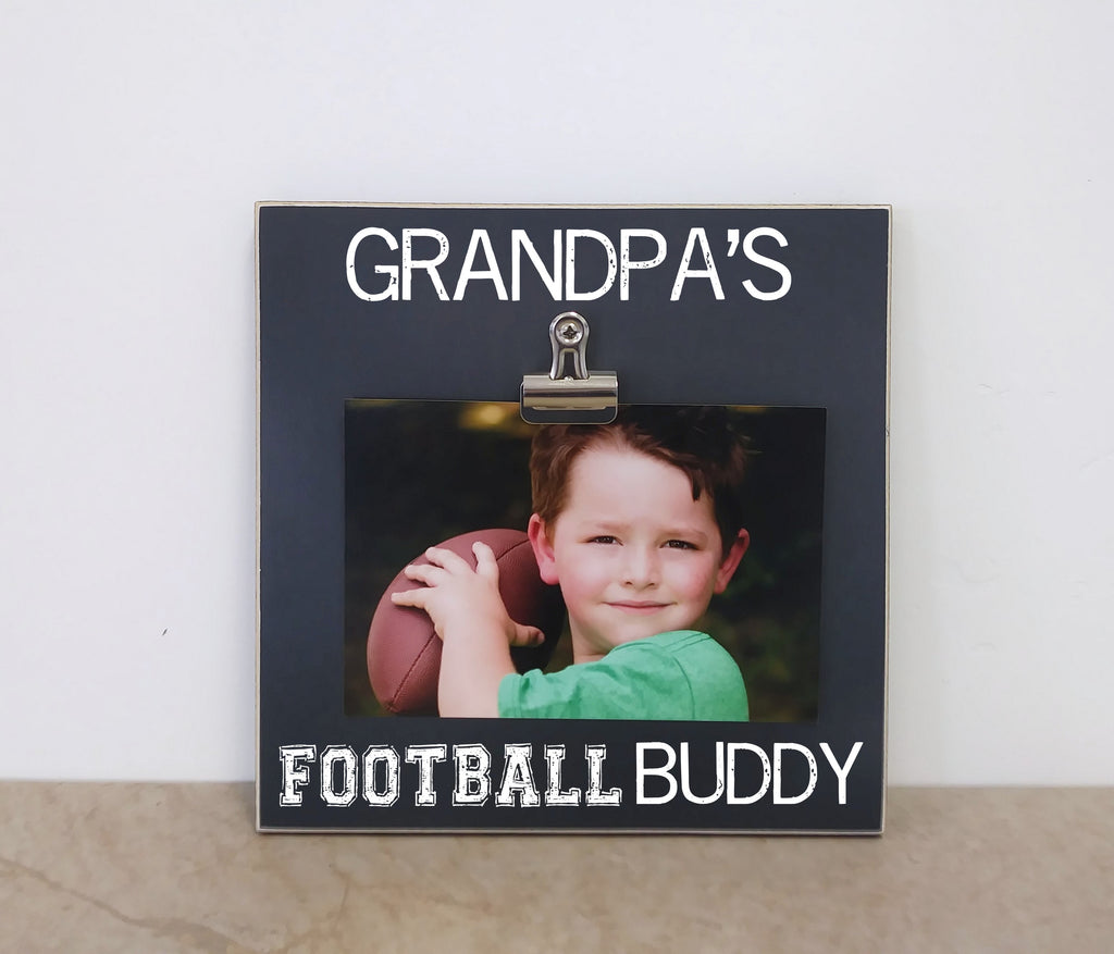 Grandpa s football buddy frame 8x8