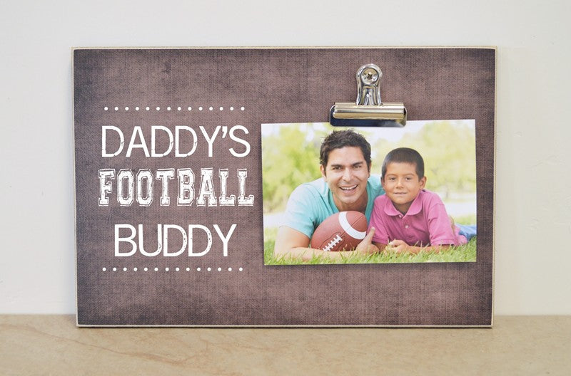 daddys football buddy frame 8x12