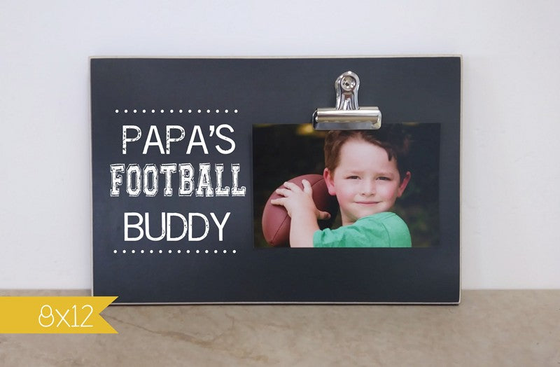 papas football buddy frame 8x12