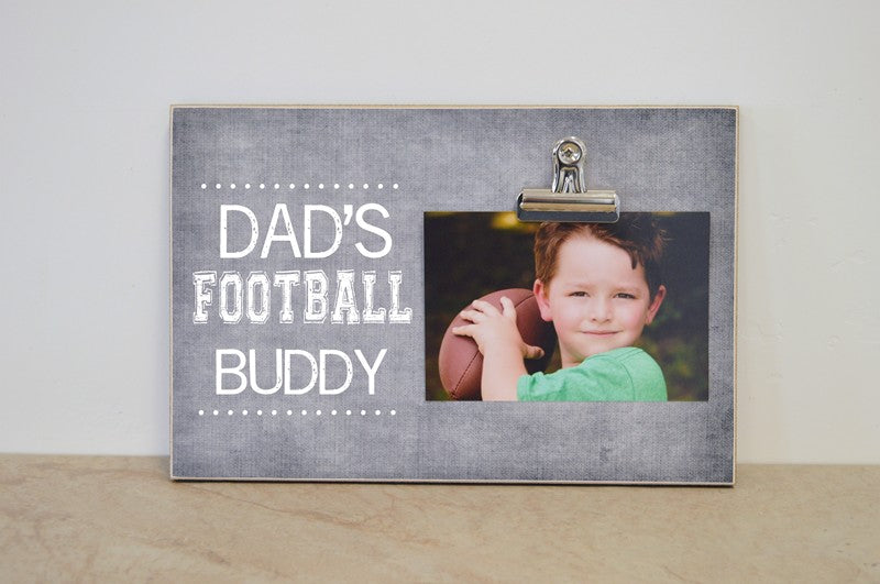 dads football buddy frame 8x12