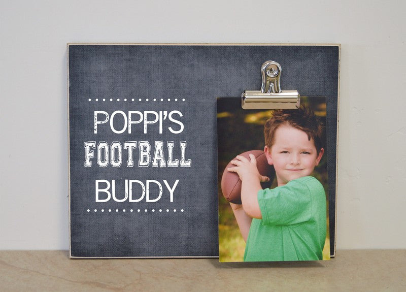poppis football buddy frame 8x10