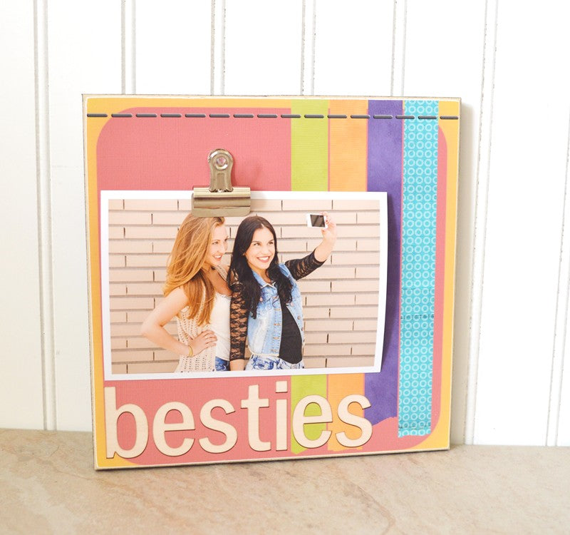 besties photo frame, picture frame for best friend