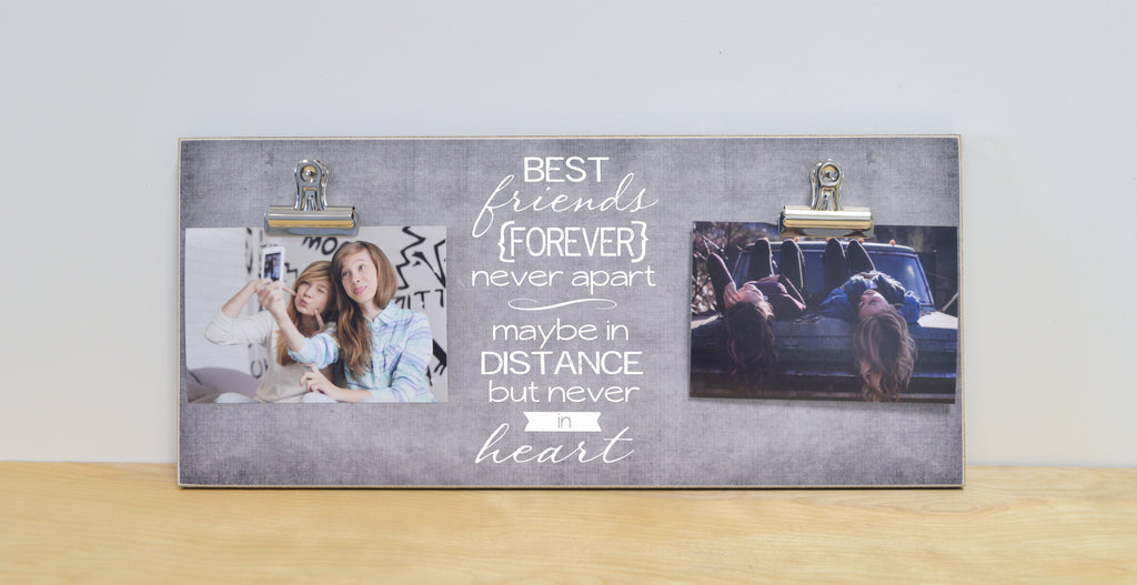 best friends forever gift, moving away gift, best friend gift for best friend, bff gift