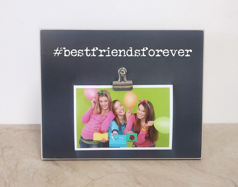 hashtag frame - best friends forever