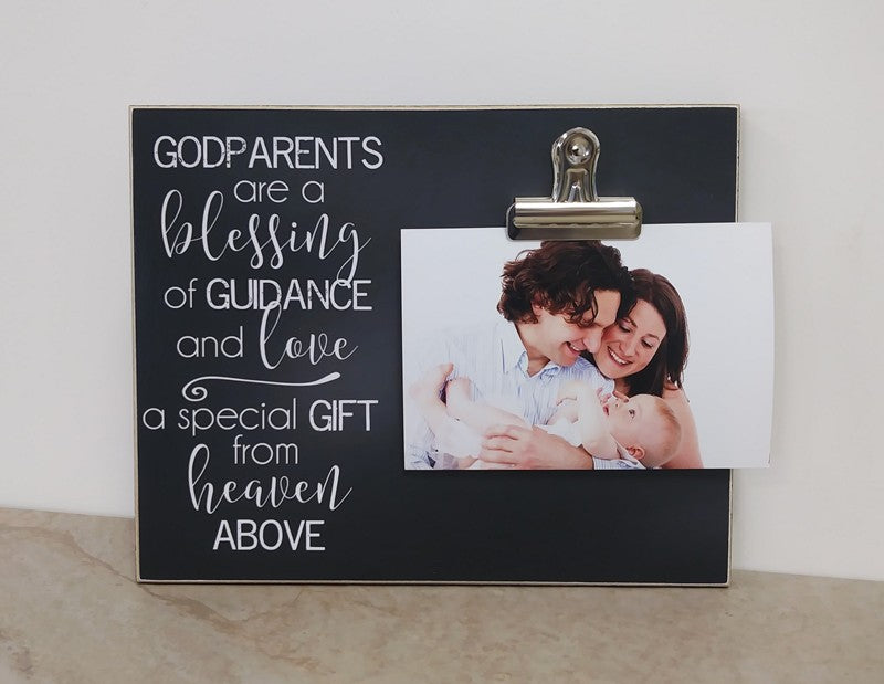 godparents are a blessing, godmother proposal, christening gift, gift for godmother, godmother gift, gift for christening, baptism gift, gift for baptism, photo frame, picture frame, godparent gift, gift for godparent