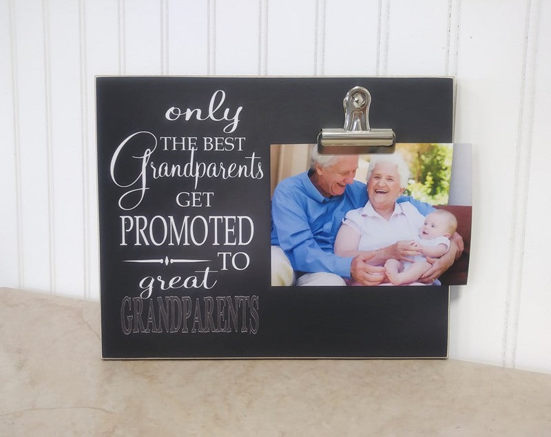 pregnancy announcement picture frame, pregnancy announcement to grandparents