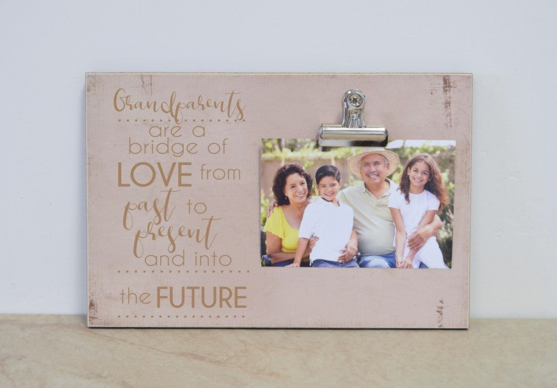 grandparents are a bridge of love from past to present and into the future