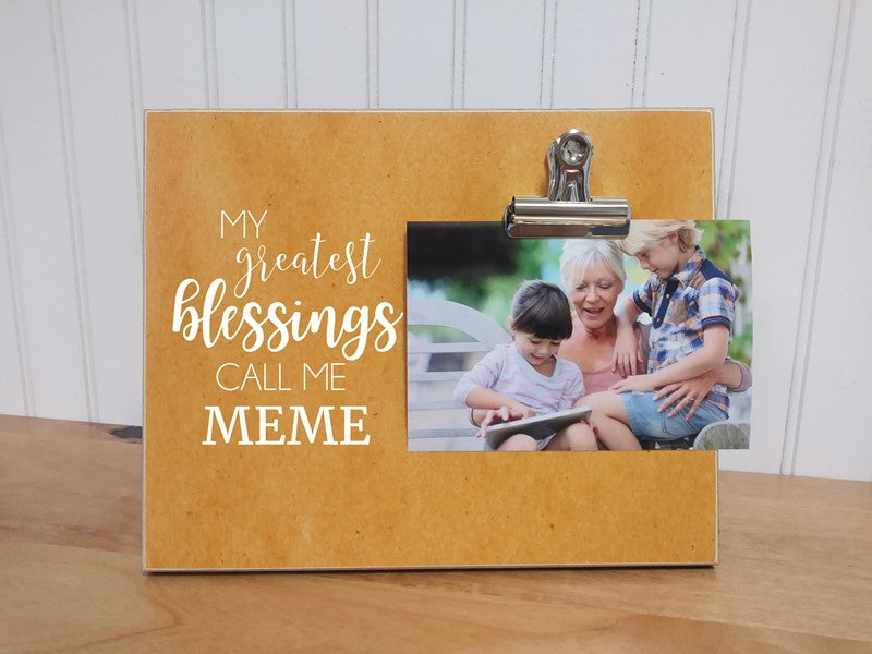 greatest blessings meme frame