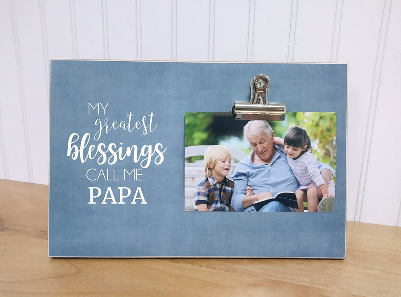 greatest blessings papa frame
