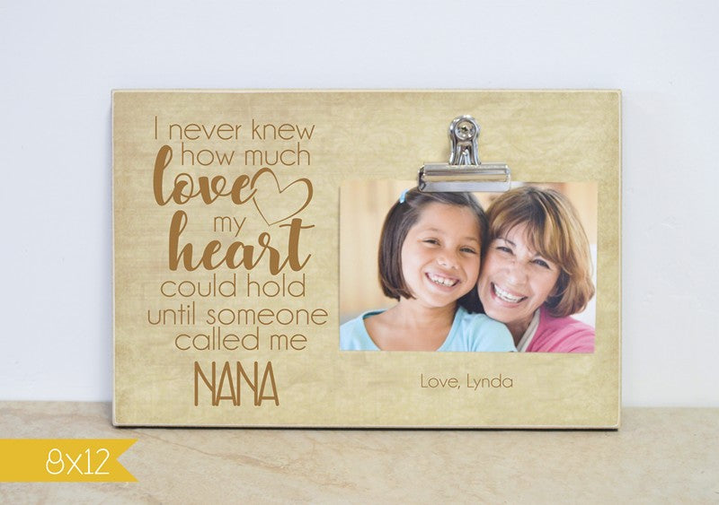 How Much Love My Heart Could Hold, Mommy Photo Frame
