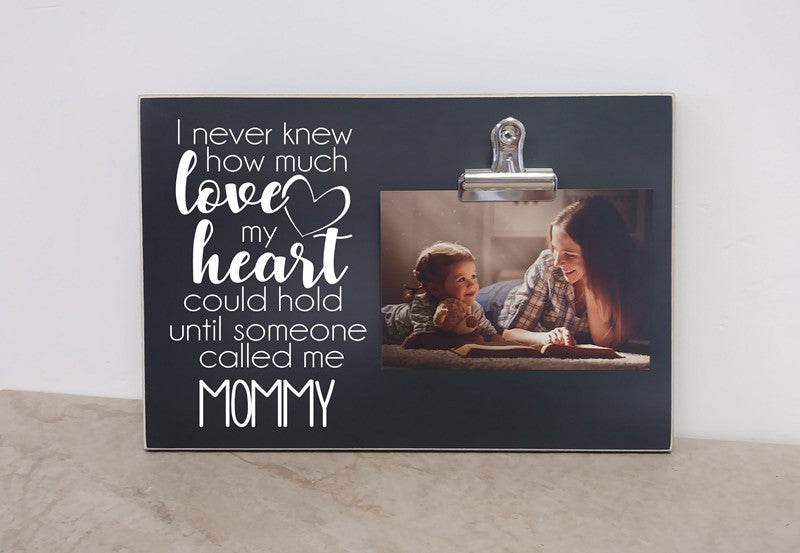 heart could hold-Mommy frame 8x12