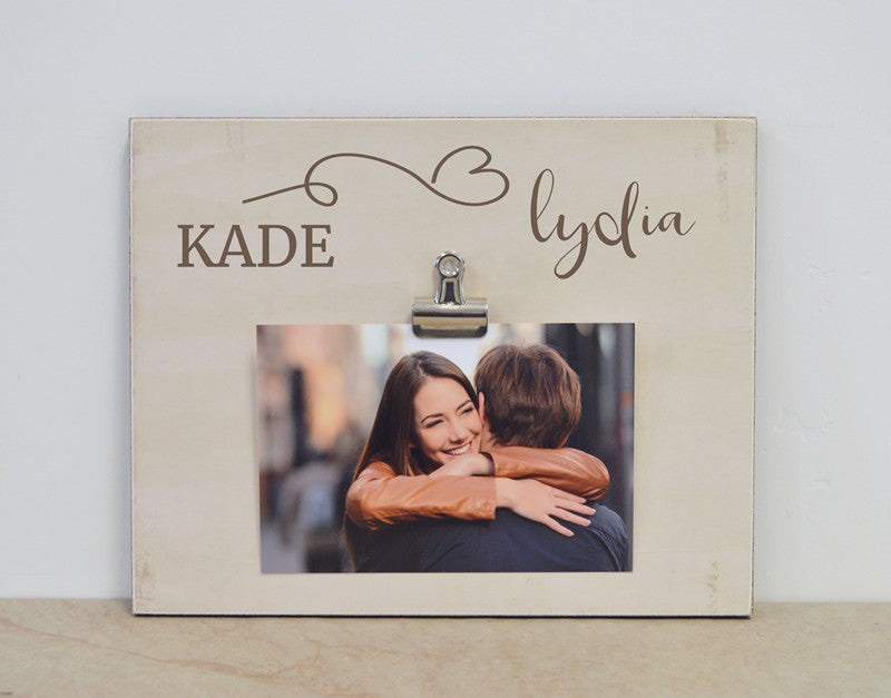 Personalized Picture Frame Couples Gift