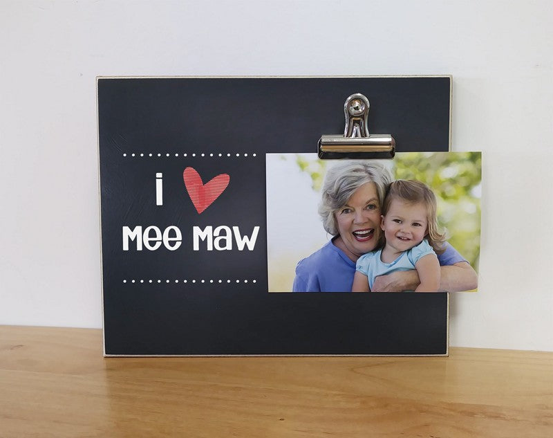 I Love Daddy Custom Picture Frame