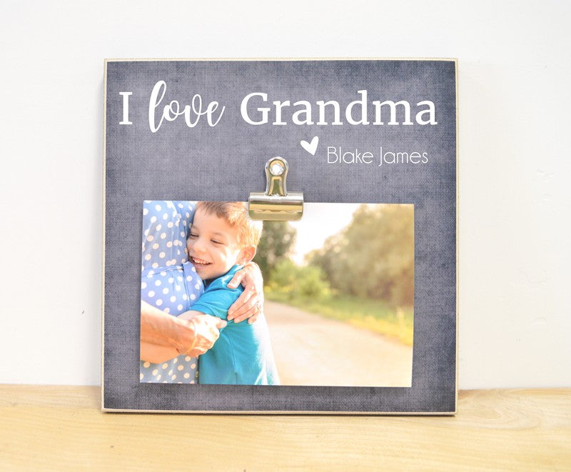 i love grandma photo frame gift for grandma