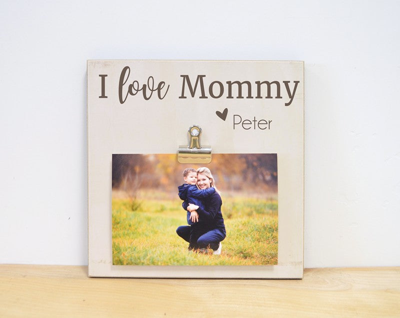 i love mommy photo frame mothers day gift picture frame for mom