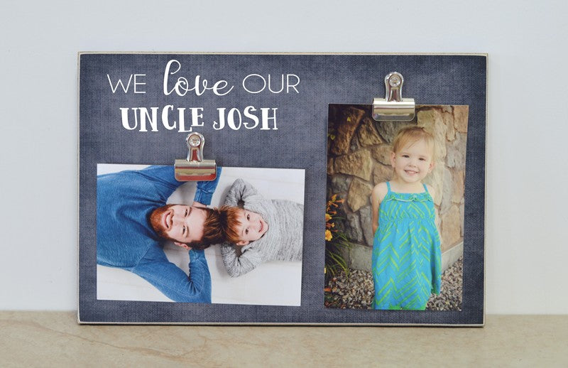 I Love My Aunt Custom Photo Frame Dandelion Wishes