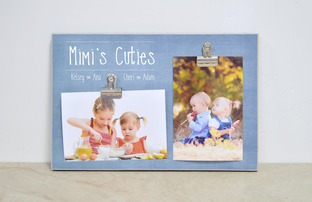 Personalized Grandma Photo Frame, Gift for Mimi, Gift for Nana, Gift For Grandma