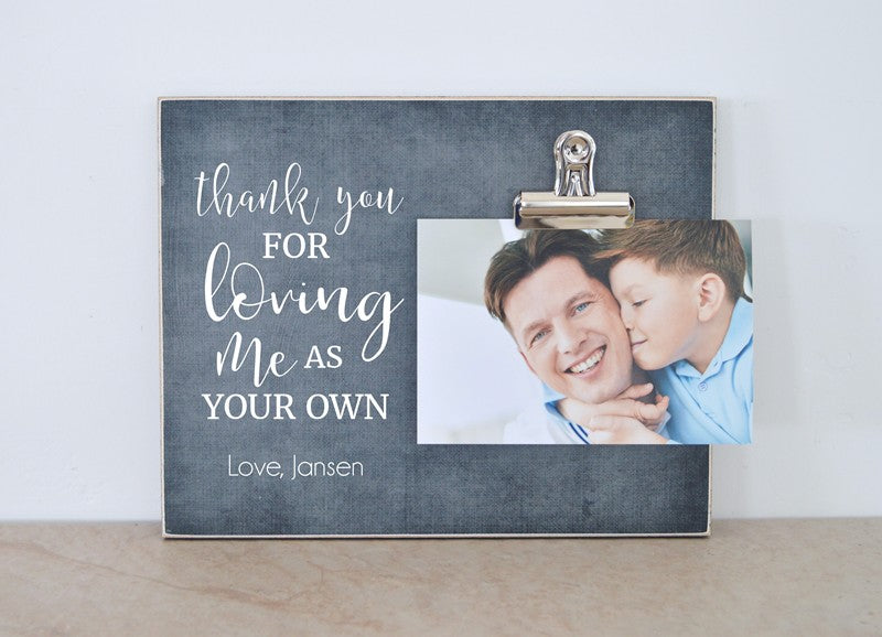 bonus dad gift photo frame for stepdad