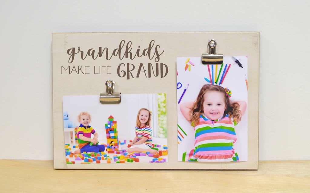 grandchildren make lie grand photo frame gift for grandparents