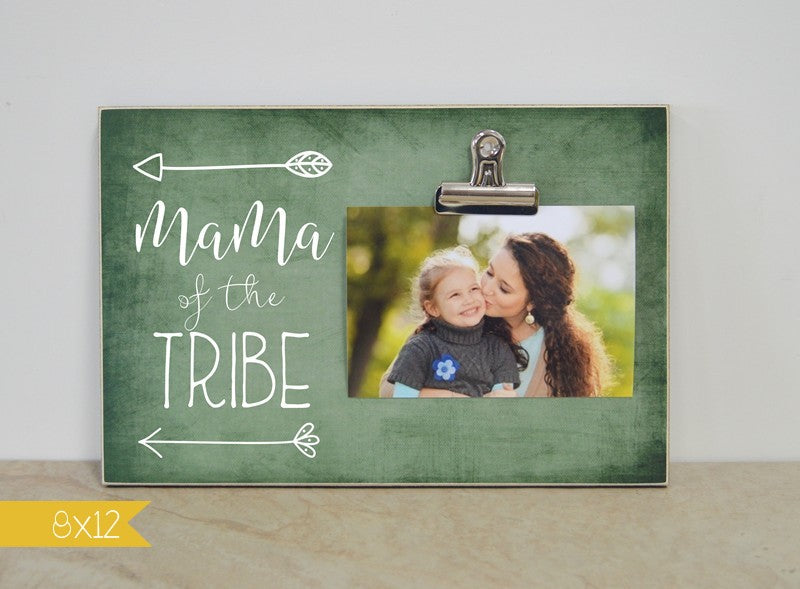 Mama Of The Tribe Family Picture Frame