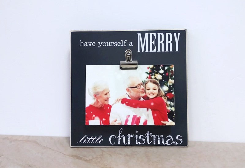 have yourself a merry little christmas, christmas deoration photo frame christmas gift