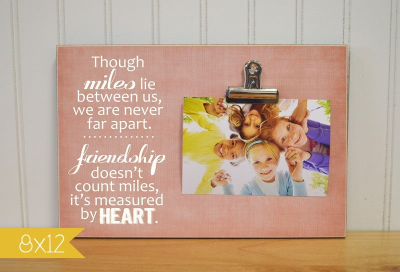 moving away photo frame for best friends