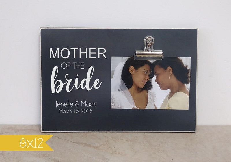 personalized wedding thank you gift for mother of the bride