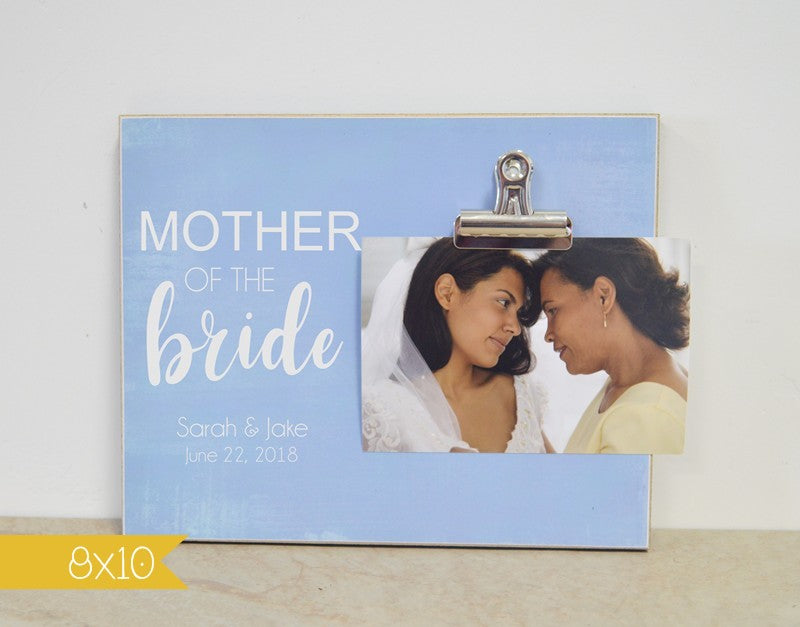 mother of the bride picture frame, gift from bride, gift for mom