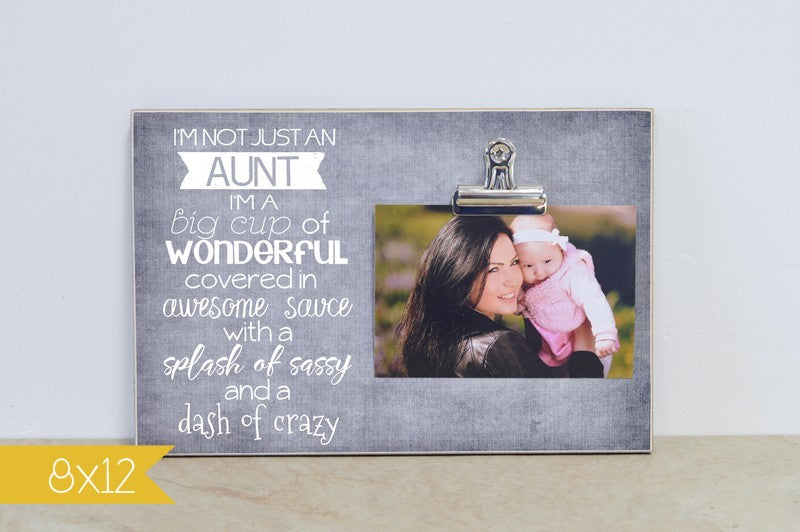 not just an aunt frame 8x12