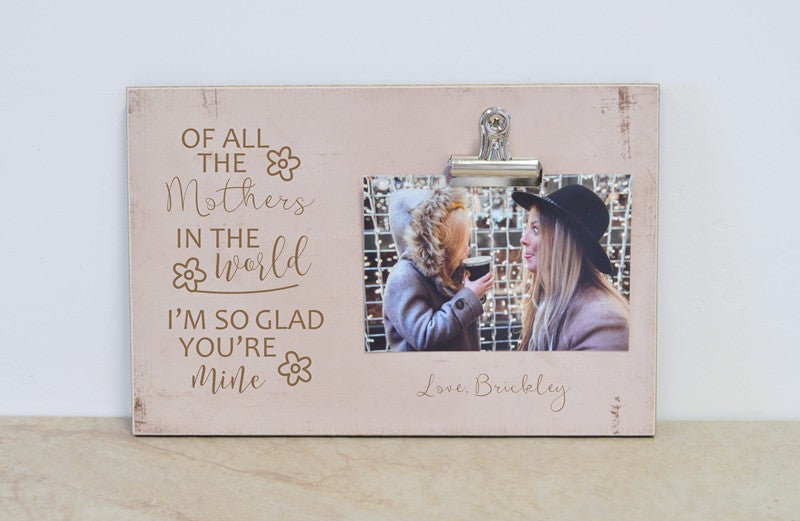 mother daughter gift picture frame for mother daughter