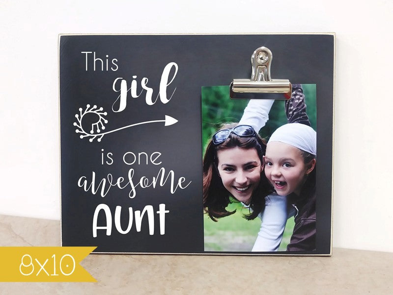 one awesome aunt frame