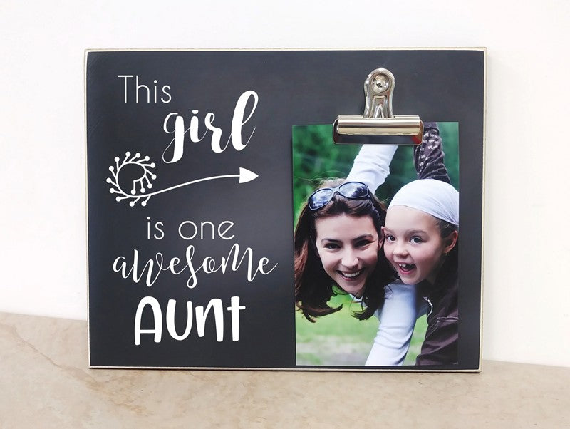 aunt gift for aunt, this girl is one awesome aunt
