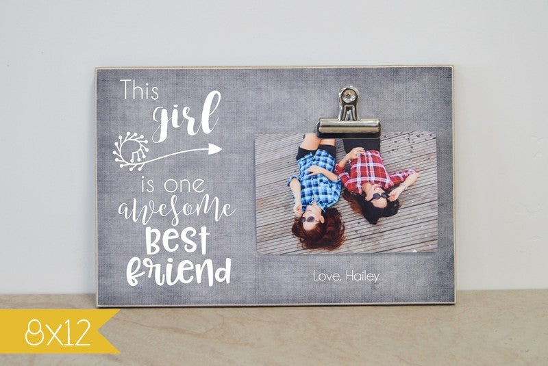 one awesome best friend frame